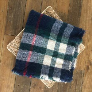 Square Plaid Scarf 54x54